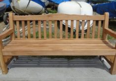 The Unveiling of a Bench in Memory of John Stewart