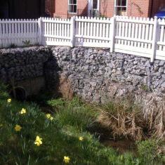 The Brook runs through another culvert on the Littlefield's Estate | Pat Marsden