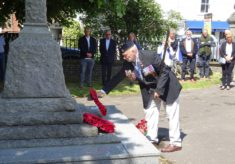 Wivenhoe Branch RBL mark the 75th anniversary of D-Day at the War Memorial