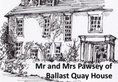 Mr and Mrs Pawsey of Ballast Quay House