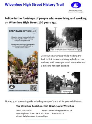Wivenhoe High Street Trail - 100 Years Ago Pamphlet