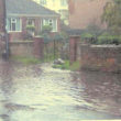 Flooding on Queens Road 2006