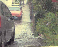 Flooding on Queens Road 2006 | QRRA