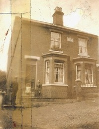 43-45 Park Road in the late nineteenth  or early twentieth century | Wivenhoe Memories