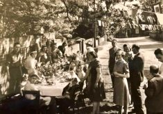Street Party to Celebrate VE Day May 1945