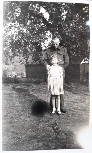 Don Burgher, Canadian Soldier WW2 and Sue Kerr, nee Everitt | Sue Kerr