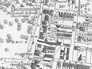1876 Ordnance Survey Map 'First Edition' (1:2500 twenty-five inches to one mile); Wivenhoe, Elmstead & Ardleigh Parishes | Extract from OS map
