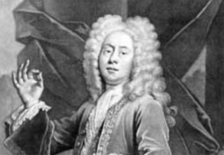 An example of an eighteenth century periwig