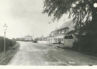 The Flag Inn in the early 1900s | From a postcard