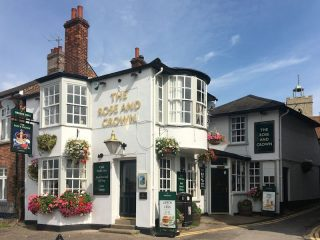 The Rose and Crown PH on Wivenhoe Quay in 2020 | Keith Bunting