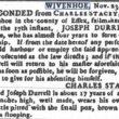 Joseph Durrell, Apprentice to Charles Stacey, Sailmaker 1786