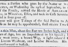 Theft from Abraham Nunn, Gardiner 1753