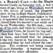 Jack Wyatt, Robbing a Baker's Cart 1841