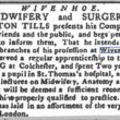 Newton Tills, Midwifery and Surgery 1787
