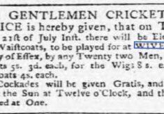 Eleven Hats, Wigs, or Waistcoats 1772