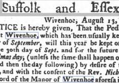 The Peddling Fair 1776