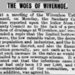The Woes of Wivenhoe 1908