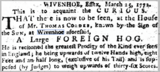 Report in the Ipswich Journal of 25th March 1772 | © British Newspaper Archive
