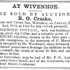 Auctions at The Rose and Crown Inn