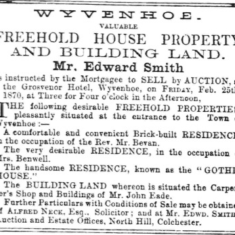 Auctions at The Grosvenor Hotel