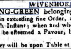 Wivenhoe Bowling Green