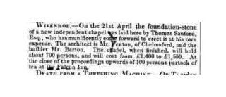 Will of Thomas Sanford 1782-1858