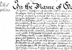 Will of Robert Hopkins 1698-1740
