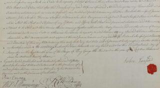 Will of John Sanford 1715-1779