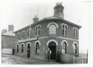 Early picture of The Station Hotel | Wivenhoe Memories Collection