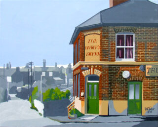 The Brewery Tavern, a painting by Alan Taylor