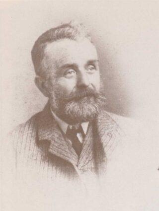 Joseph Brambrook Brown (1840-1913) landlord of The Greyhound 1891-1910.