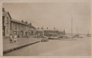 The Sailors Return on The Quay | Photo: Wivenhoe Memories Collection