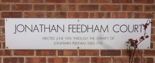 Sign at Jonathan Feedham Court | Photo by Peter Hill