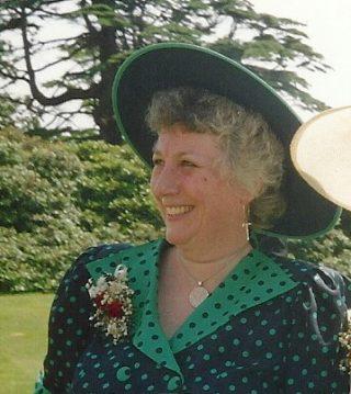 Jan Richardson at Wivenhoe House in 1990 | Photo: Sarah Brooks Richardson