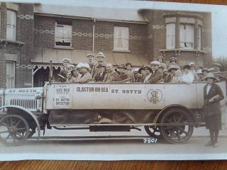 A later Silver Queen bus - this one is off to St Osyth to see The Skeleton which was a great tourist attraction in the 1920s