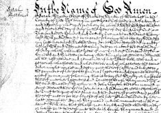 Will of Sarah Martin (1683-1738) made in 1722