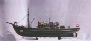 Model of the Beveland made by Bill Ellis