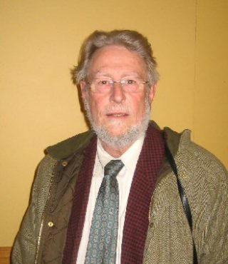 Denis Sparling, a former Wivenhoe landlord, at the March event | Peter Hill