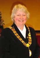 Cllr Gilli Primrose, Town Mayor 2003 - 2004