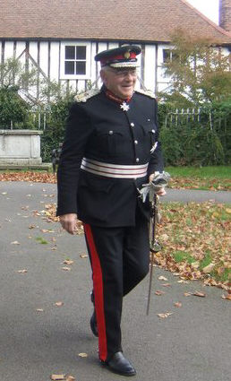 Lord Petre, Lord Lieutenant of Essex arriving at the Church   Peter Hill