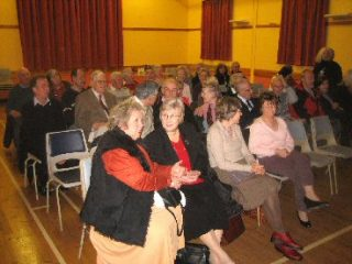 Crowd in the William Loveless Hall at an Update Event in March 2006 | Peter Hill