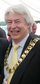 Cllr Peter Hill, Town Mayor 2004 - 2005