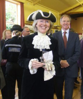 High Sheriff of Essex, Sarah Courage   Peter Hill