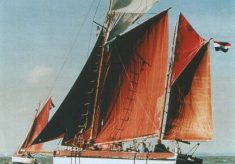 "About the Smack Yacht ""Vera"" built in Wivenhoe in 1893"