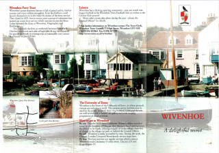 The Delightful Secret leaflet produced by Wivenhoe Town Council in 1996