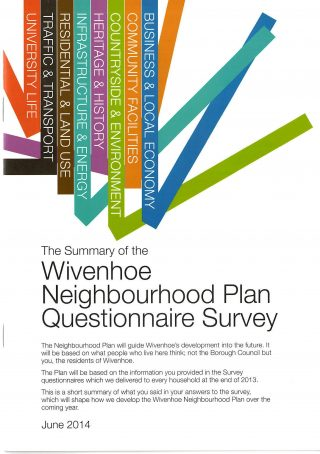 A Summary of the Questionnaire Results in 2014