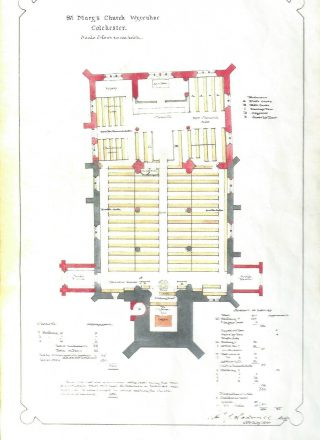 Edward Hakewell's plans for the Church