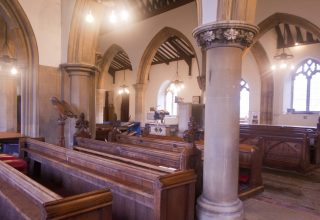 View across the Chancel looking towards the Nave | Photo: Frances Belsham