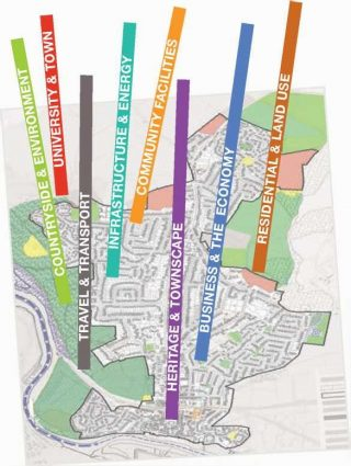 The Neighbourhood Plan logo designed by local resident John Wallett