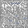 Sale of Wivenhoe Property 1894